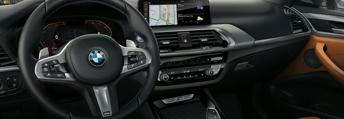 2020 BMW X3 Interior - Dash, Technology, and Stereo