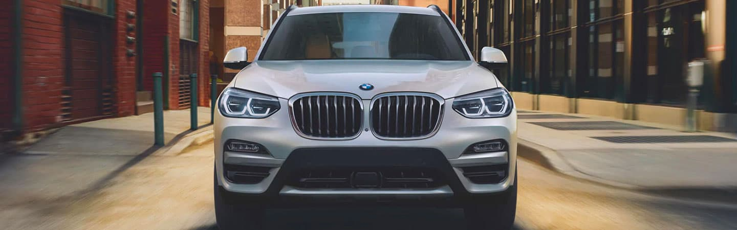 2020 BMW X3 Exterior - Front End - Grille and Bumper