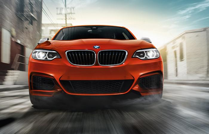 Exterior of the 2020 BMW 2 Series