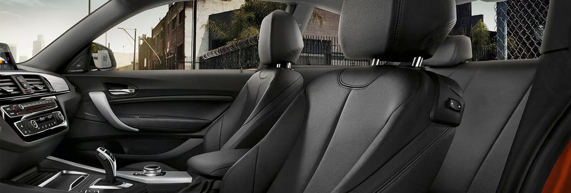 Interior image of the 2020 BMW 2 Series