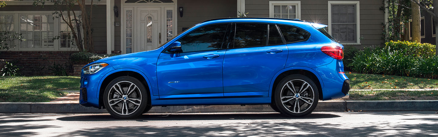 Exterior of the 2019 BMW X1 in Miami, FL