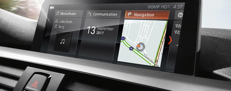 BMW 3 Series display view