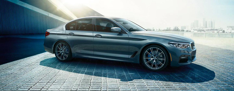 BMW 5 Series rear view