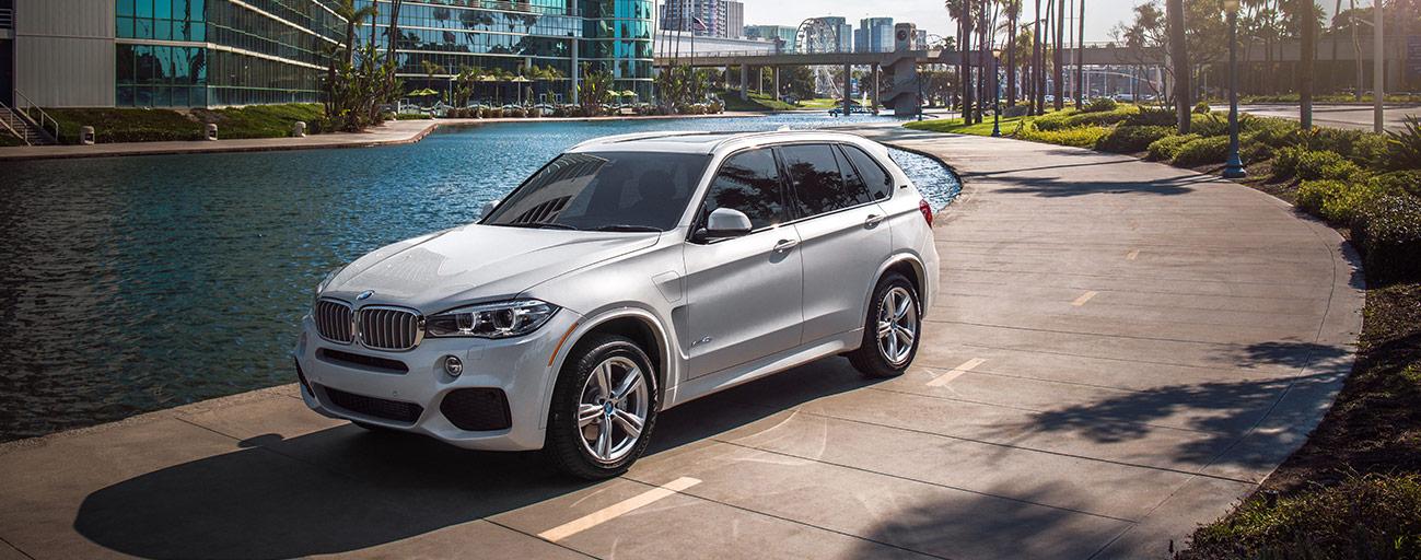 BMW X3 side view