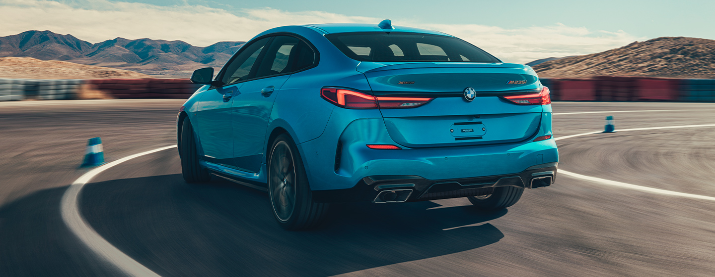 BMW 2 Series rear view