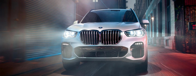 BMW X5 rear view