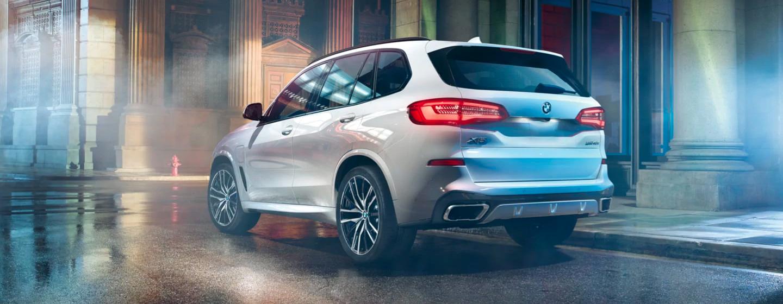 BMW X5 side interior