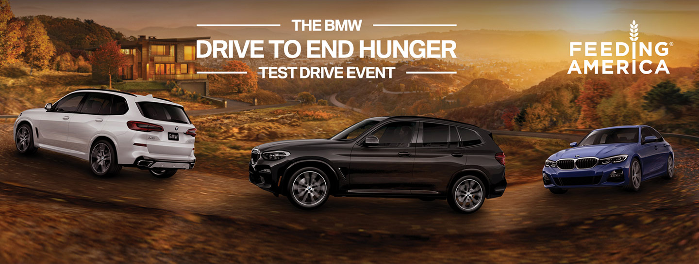 The BMW Drive To End Hunger Test Drive Event | Feeding America