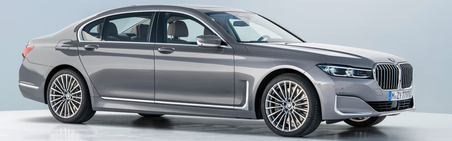 Gray 2020 BMW 7 Series Exterior - Parked - Front and Side