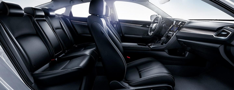 Honda Civic side interior