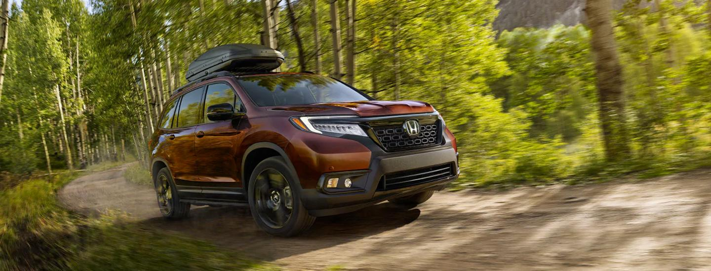 2020 Passport on an off-road trail