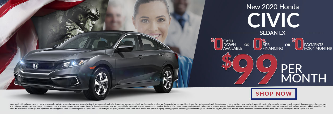 Honda Civic Offer