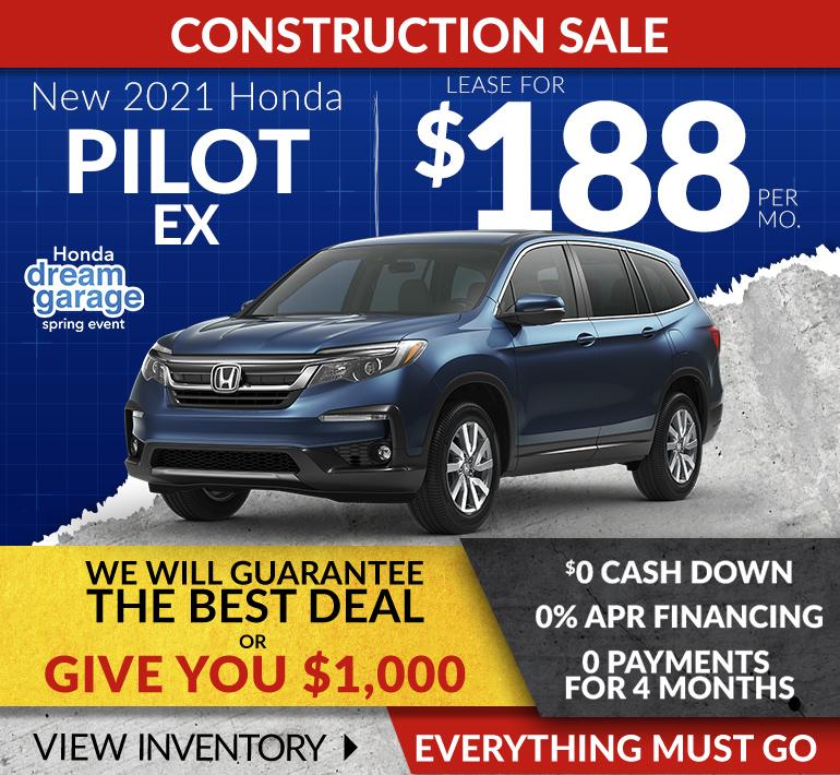 Honda Pilot Offer