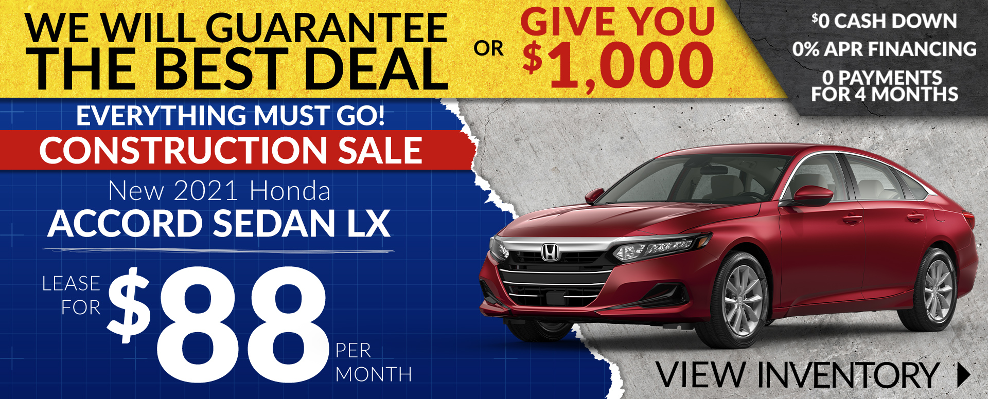 Honda Accord Offer