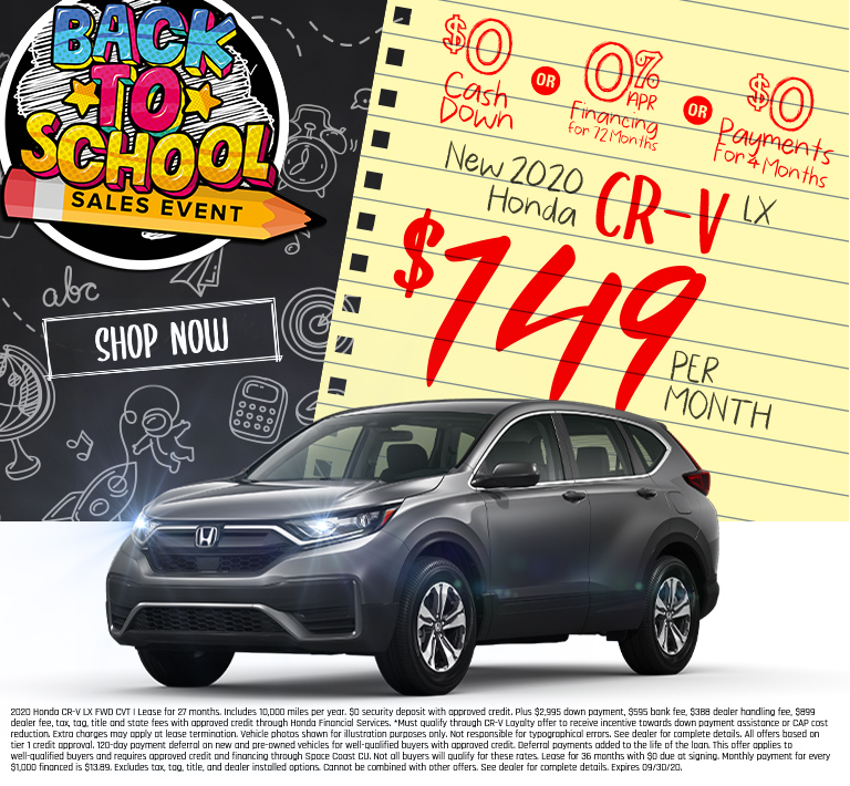 Honda CR-V Offer