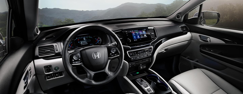 Honda Pilot inside