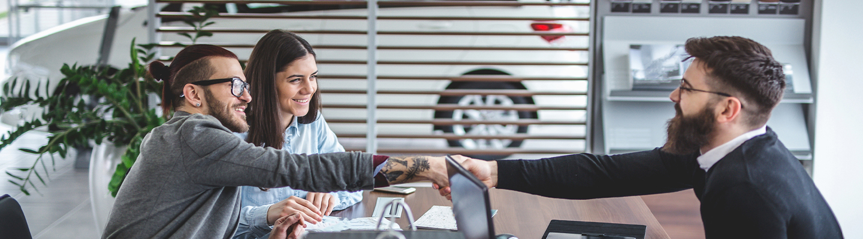 South Motors Honda Dealer hands over the key to client