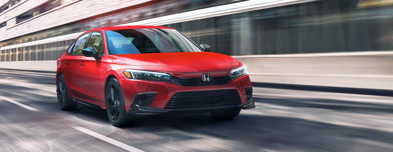 Honda Civic rear view