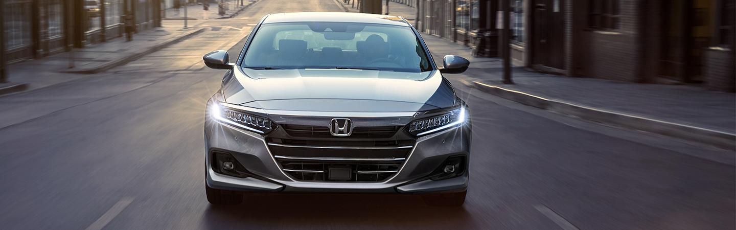 2020 Accord front view in motion
