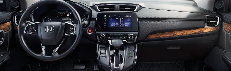 Full interior view of the CR-V