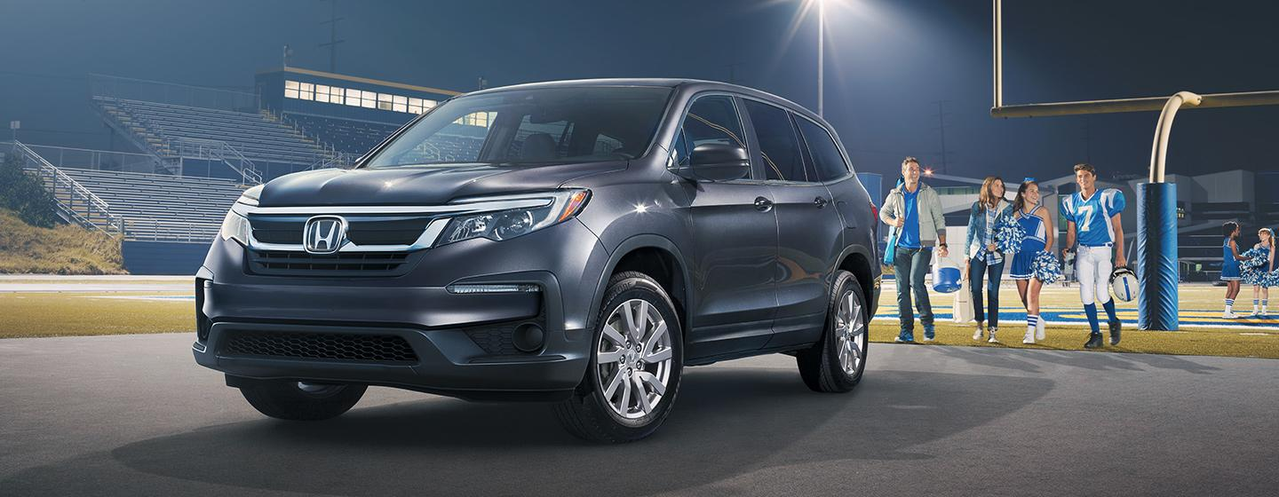 Honda Pilot side view