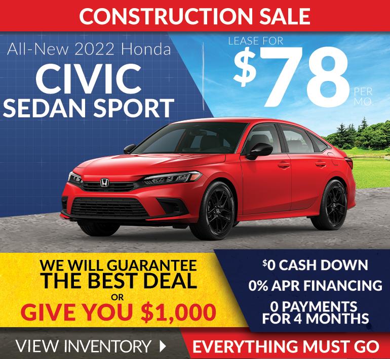 Honda Civic Offer