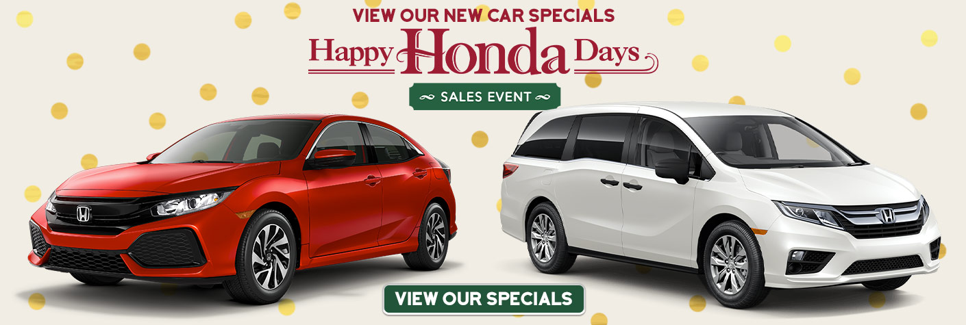 Clearance Priced To Move Happy Honda Days Sales Event