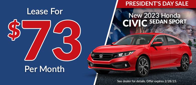 Honda special offer