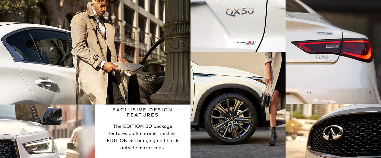 Exclusive design features