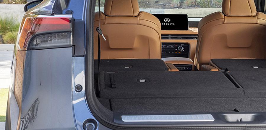 INFINITI QX60 rear trunk