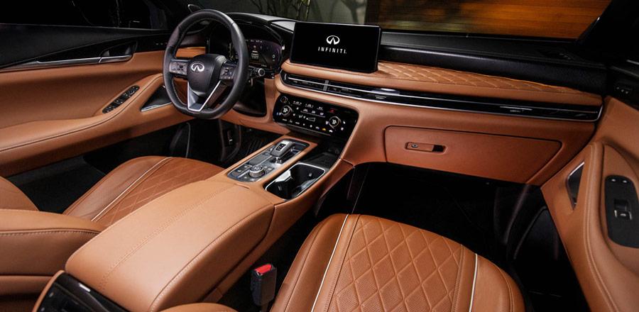 INFINITI QX60 front interior