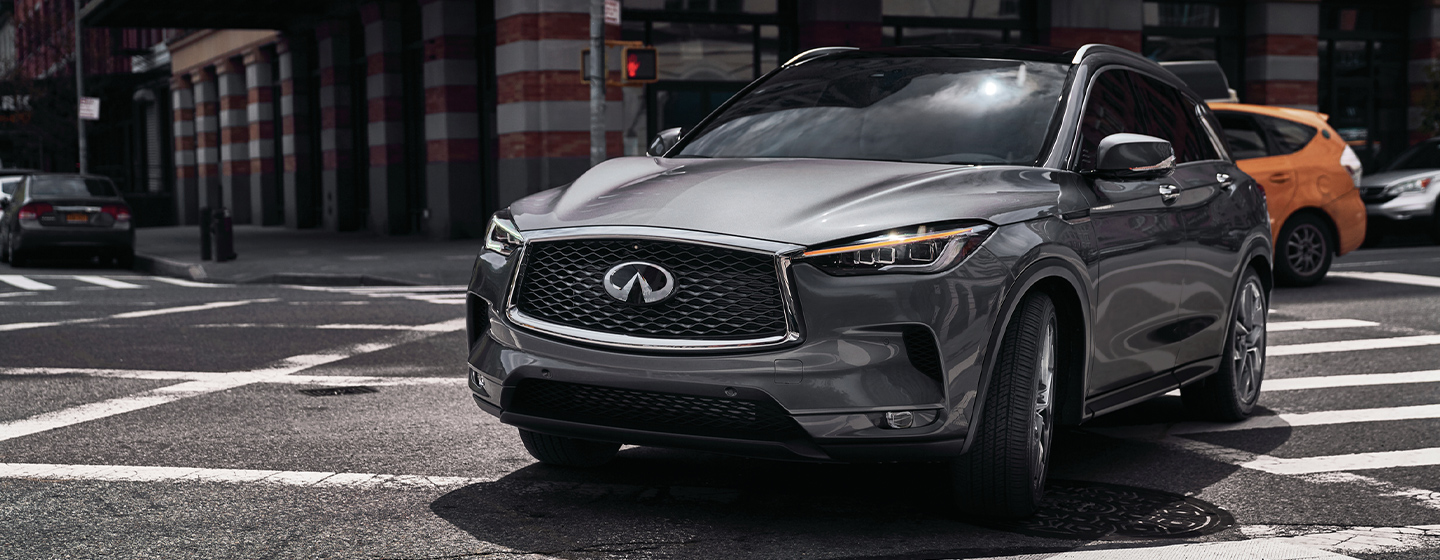 INFINITI QX50 side view