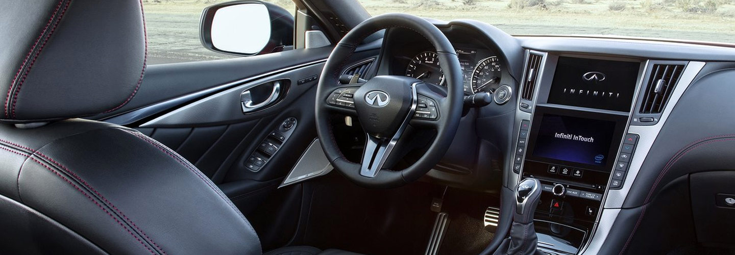 2019 INFINITI Q50 Interior View of the driver