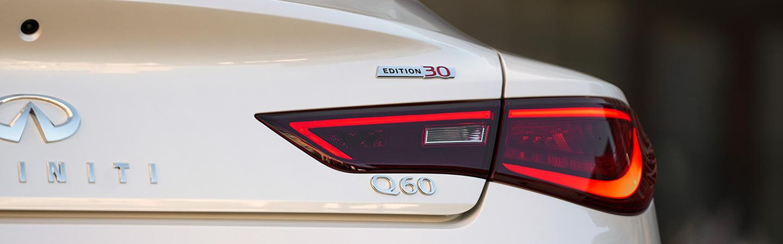 White 2020 INFINITI Q60 - Tail Light