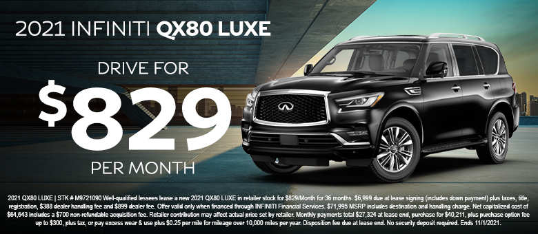 INFINITI special offer