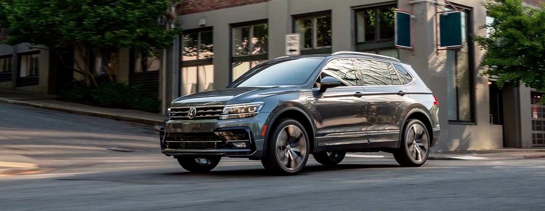 Volkswagen Tiguan front side
