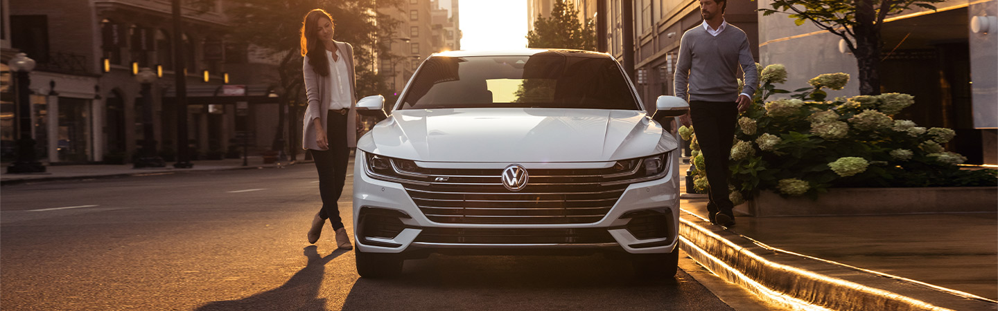 Volkswagen Arteon display view
