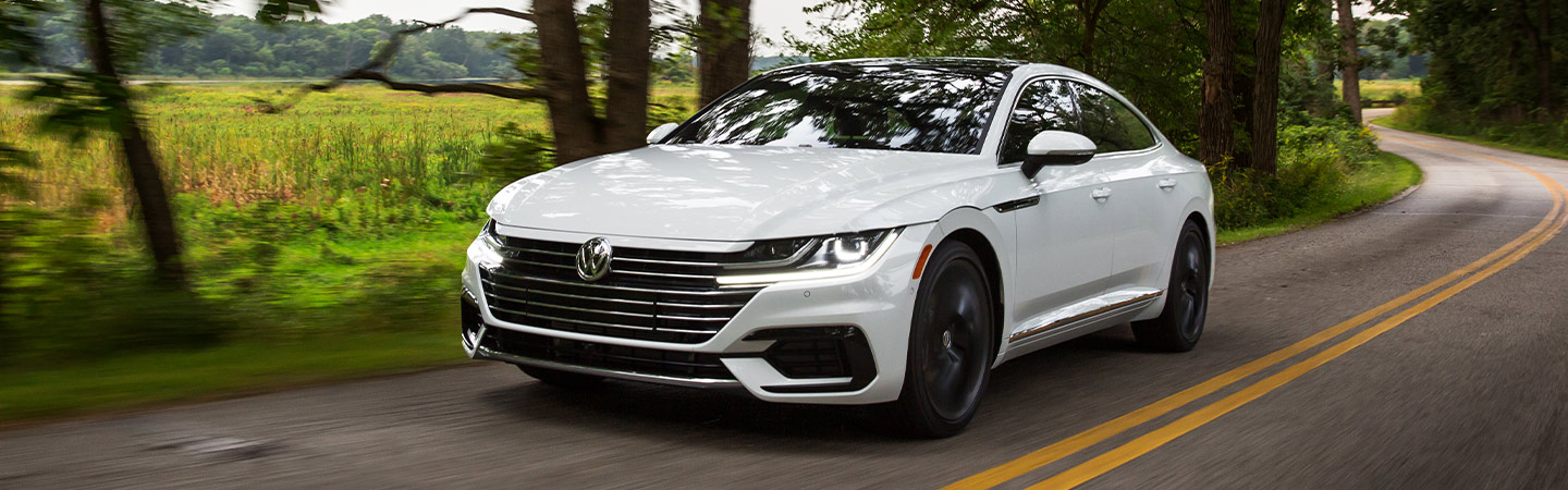 Volkswagen Arteon head lights