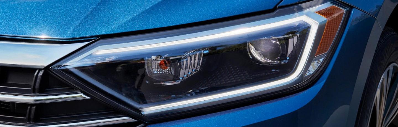 Volkswagen Jetta head lights