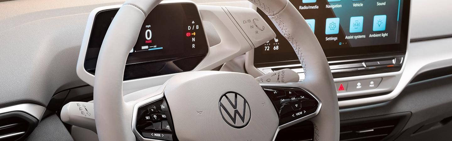 Interior view of the 2021 ID4