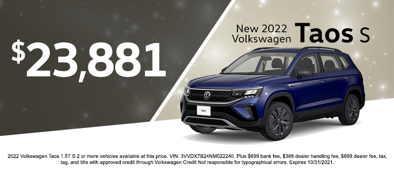 VW special offer