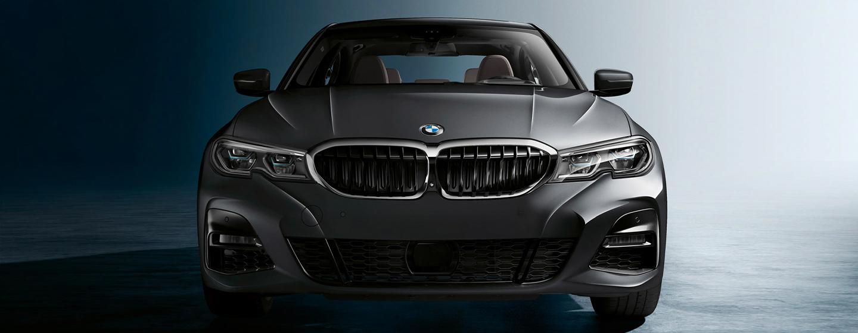 BMW 3 Series head lights