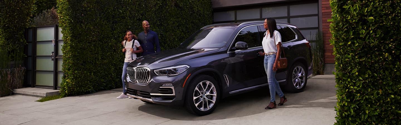 Dark Blue 2020 BMW X5 Exterior - Parked in a driveway