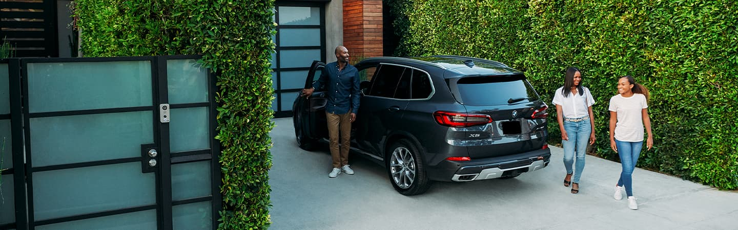 Gray 2020 BMW X5 Exterior - Parked in a driveway