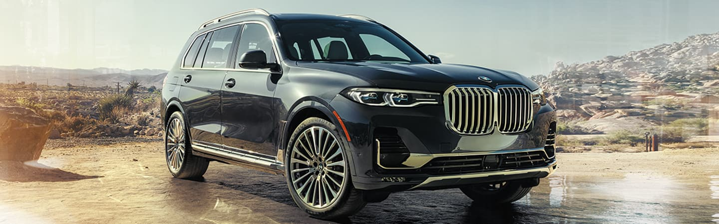 Gray 2020 BMW X7 Exterior - Parked - Front View
