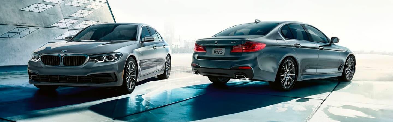 2020 BMW 5 Series Parked