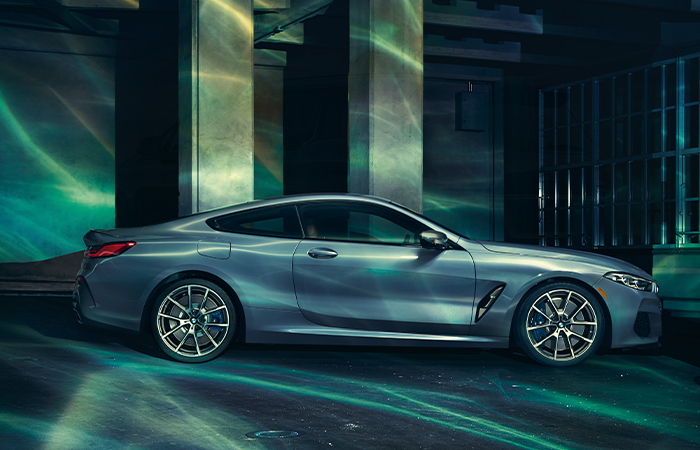 Exterior of the 2020 BMW 8 Series