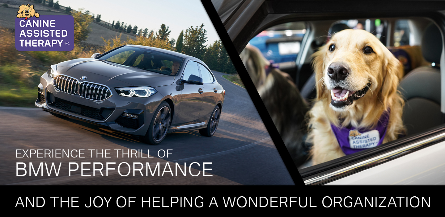 Experience the thrill of BMW Performance and the joy of helping a wonderful organization