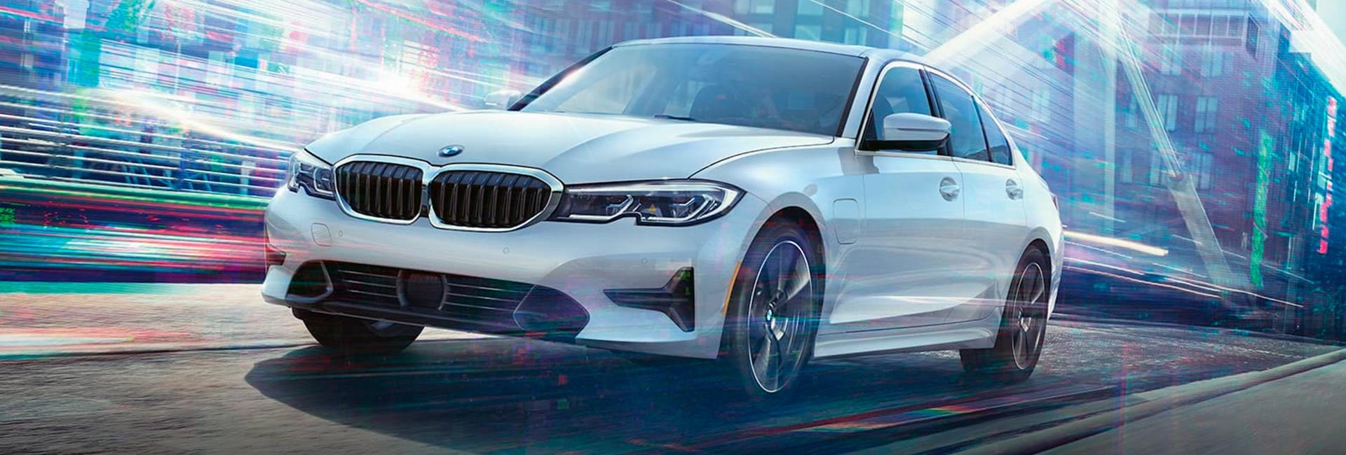 Front view of the 2021 BMW 3 Series