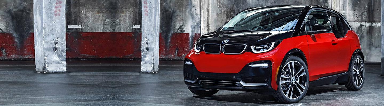 Vista BMW i3 Electric Car Interior